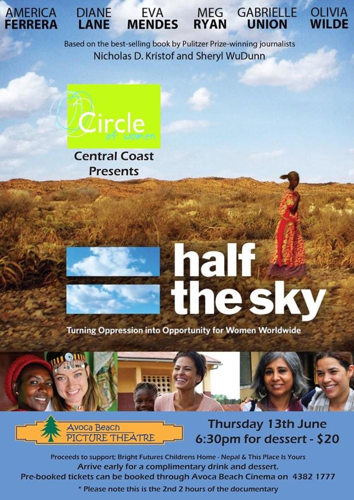 Half the sky v6 June 2013